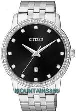 Citizen Watch, Swarovski Elements, Stainless Steel,WR50, Date, Mens, BI5030-51E