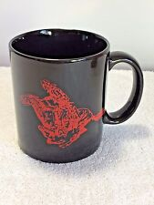 MARLBORO MAN Horse Rider Cigarette Advertisement Black Red Coffee Tea Cup Mug