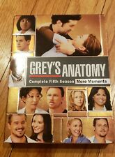 Grey's Anatomy Complete Season 5 DVD Set- More Moments