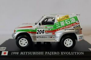 Collection Of Press 1/43 .mitsubishi Pajero Evolution. New IN Box Soft