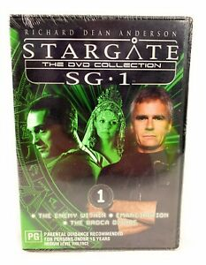 Stargate DVD Collection SG-1 DVD Richard Dean Anderson Vol 1 New & Sealed R4