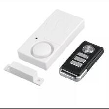 (2) Wireless Remote Control Magnetic Sensor Door Window Home Security Alarms
