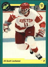 Scott Lachance - 1991-92 Classic Draft Picks - Boston University Terriers