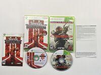 Xbox 360 Unreal Tournament III 3 & Crysis 3 GAME LOT