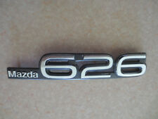 Original Mazda 626 car badge