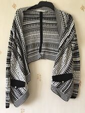 Karen Millen Cardigan Size 4 / L Black And White