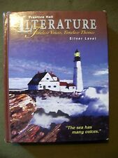 LITERATURE SILVER LEVEL PRENTICE HALL TIMELESS VOICES LARGE HARDCOVER