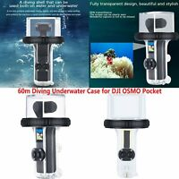 60m Waterproof Diving Underwater Case Protective Housing ABS for DJI OSMO Pocket
