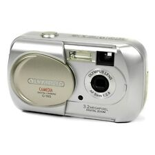 Olympus Camedia C-160 3.2MP Digital Compact Point & Shoot Camera in Silver