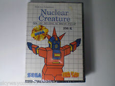 Extra Rare Sega Master System - Nuclear Creature - Video Game Vintage ! Sealed!