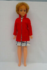 vintage Tina Cassini doll with bubble hair cut and outfits Oleg Cassini design