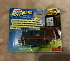 Fisher Price Thomas The Tank Friends Adventures Metal Engine Steel Works Frankie
