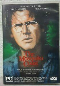 Mosquito Coast DVD - Harrison River Phoenix Movie 1980s RARE Survival Adventure