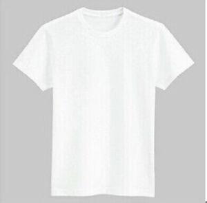Blank White Polyester Sublimation Tshirt XXXXL