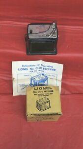 LIONEL POSTWAR HO NO. 0150 RECTIFIER FOR HO TRAINS -  LATE 1950'S - NOS