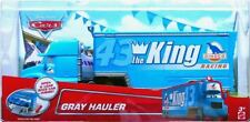 Disney Pixar CARS THE KING GRAY HAULER 1:55 TRUCK RARE VHTF SEMI TRAILER DINOCO