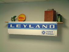 Leyland tractor shed banner vintage tractors