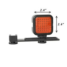 Rechargeable IR Red 36 LED Light Infrared Night-Vision +Bracket +Charger+Battery