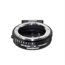 Metabones Speed Booster 0.71x Nikon G / F a M43