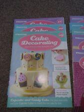 DeAgostini Cake Decorating Magazines bundle