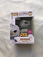 Funko Pop! Harry Potter Buckbeak Flocked Black Eyes Variant Hot Topic LE 3000