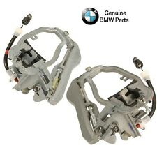 For BMW E53 00-06 X5 Pair Set of 2 Front Outside Door Handle Carriers Genuine