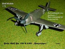 """Focke Wulf Fw 190 A-6/R3 """"Panzerjäger""""   1/72 Bird Models Umbausatz / conversion"""