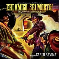 Carlo Savina: Ehi Amigo... Sei Morto! (New/Sealed CD)