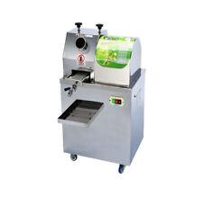 Electric Sugar Cane Press Juicer Ginger Juice Extractor Stainless Steel 220V