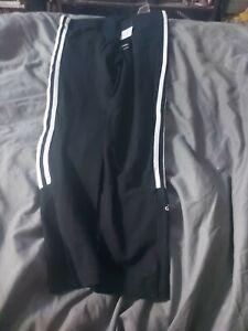 Adidas Black Workout Leggings / bottoms NEW Size M UK