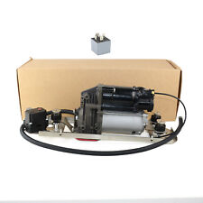 For BMW E61 530i 535xi Air Compressor Pump + Bracket + Block Valve+Relay New