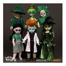 Wizard of Oz Living Dead Dolls Variant The Lost in OZ Set of 6 Dolls Mezco - Off