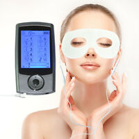 Digital Massager Electric Pulse Therapy TENS EMS + Massage Face Eye Masks