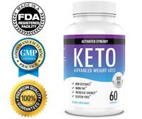 Keto Diet Pills Natural Fat Burner Advanced Weight Loss Supplement BHB Formula