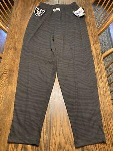 Vintage 90's OAKLAND RAIDERS ZUBAZ Pants Proline Medium DEADSTOCK RARE/NWT!