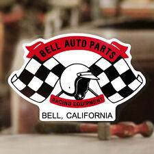 Bell Auto Parts Decal Sticker Original autocollante Helmet Helmet Flags Race