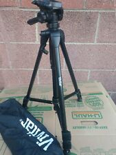 """Vivitar 57"""" Black Tripod missing Quick Release Good Condition with Storage Bag"""