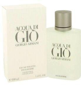ACQUA DI GIO BY GIORGIO ARMANI 100ML EDT EAU DE TOILETTE SPRAY PERFUME FOR MEN