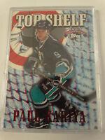 1996-97 Topps Top Shelf #TS 4 Paul Kariya Anaheim Ducks Hockey Card