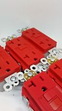 Lot of 20 Legrand Pass Seymour GFCI RED PLUGTAIL 20A PT2097RED FREE SHIPPING