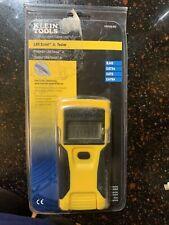Klein Tools Lan Scout Jr Tester w/ Rj45 Port Dual-Function Button Brand New