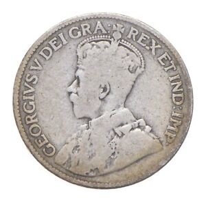 Better Date - 1919 Canada 25 Cents - SILVER *429