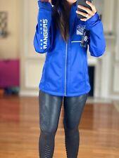 New York Rangers Performance Soft Shell Hooded Jacket Reflective Women's S NHL