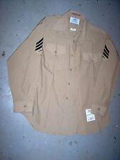 "USMC US Marine Corps Short Sleeve Khaki Service ""B"" Shirt Sgt 16 x 34"