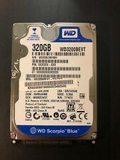 "Western Digital Scorpio Blue 320 GB Internal 5400 RPM 2.5"" Hard Drive"