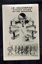 Mint WW2 France Anti Nazi Propaganda Postcard Hitler and his Gangsters