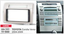 Car Stereo Radio Fascia Panel 2 Din Frame Kit for TOYOTA Corolla Verso  11-560
