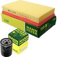 MANN-FILTER PAKET Luftfilter Ölfilter Suzuki Swift III MZ EZ 1.5 1.3 4x4