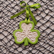 SHAMROCK Irish, Made with Sand Tropical Beach Ornament