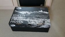 THE NORTH FACE Black White Logoed Shoe Storage Box with Its Original Tissue
